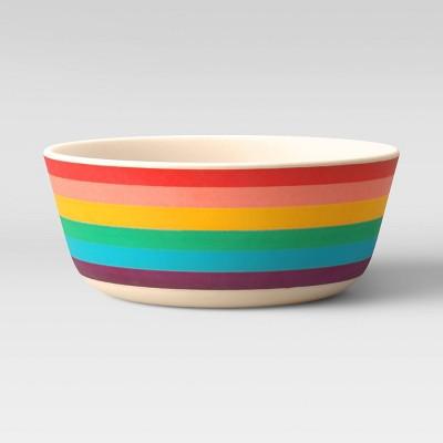 15oz Bamboo and Melamine Kids Bowl - Pillowfort™