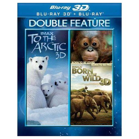 IMAX: To The Arctic / Born To Be Wild (Blu-ray) - image 1 of 1