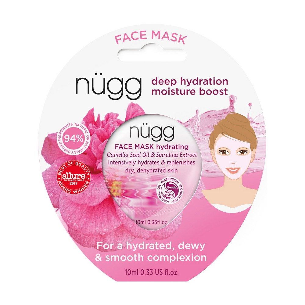 nügg Hydrating Face Mask with Camellia Seed Oil & Spirulina Extract - 0.33 fl oz
