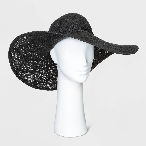 Women's Open Weave Floppy Hats - A New Day™ One Size - image 1 of 2