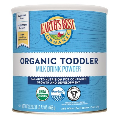 Baby Formula: Earth's Best Toddler