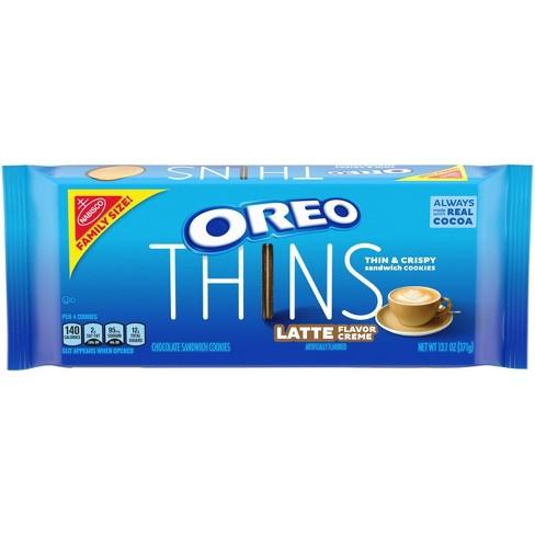 Oreo Thins Latte Family Size - 13.1oz - image 1 of 4