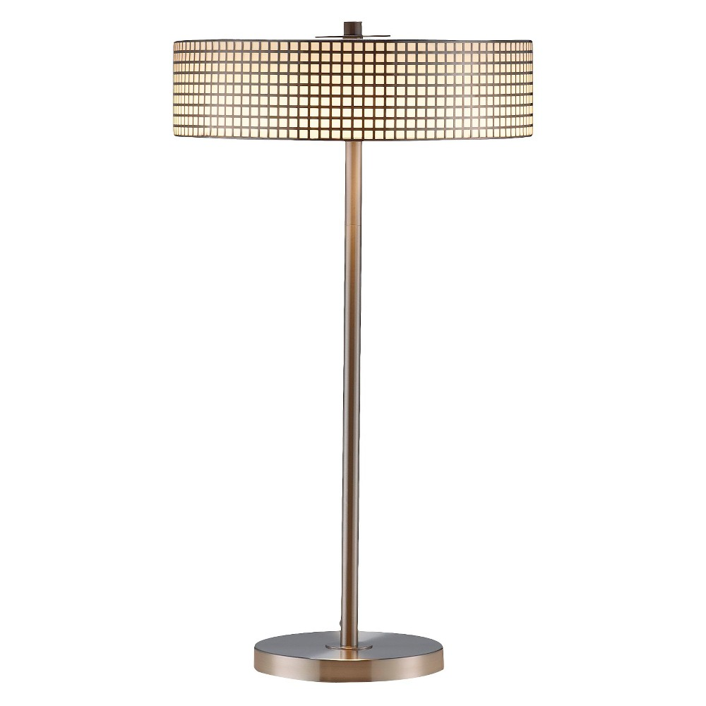 Adesso Wilshire Led Table Lamp - Silver
