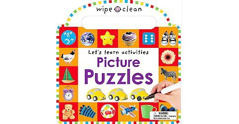 Picture Puzzles (Hardcover) (Emma Jennings & Sarah Powell & Amy Oliver) - image 1 of 1