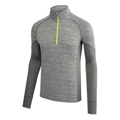 Mizuno Men's Alpha Long Sleeve Half Zip Running Shirt