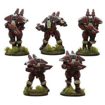 Hazard Squad Miniatures Box Set