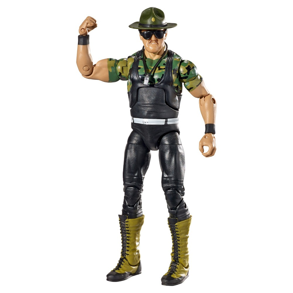 Wwe Hall of Fame Elite Collection Sgt Slaughter Figure