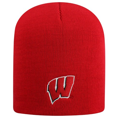 NCAA Wisconsin Badgers Pom Knit Hat - image 1 of 2