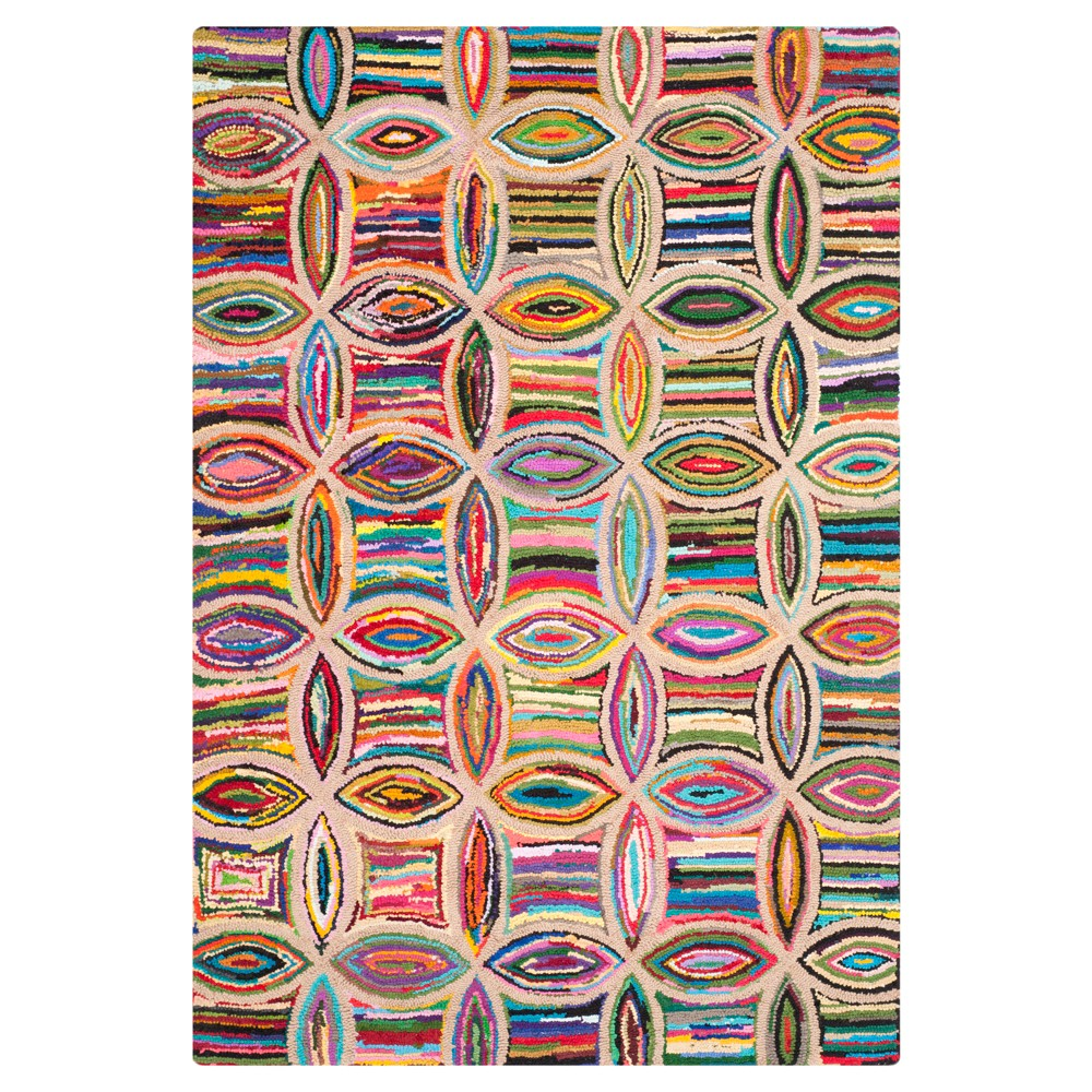 Solid Tufted Area Rug - (5'x8') - Safavieh, Multicolored