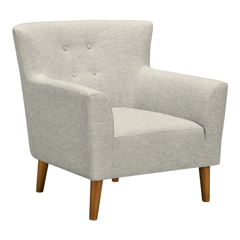 Image of Alam Mid-Century Accent Chair Beige - Modern Home