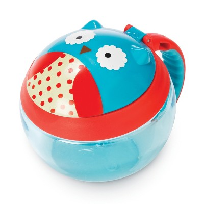 Skip Hop Snack Container Blue Red