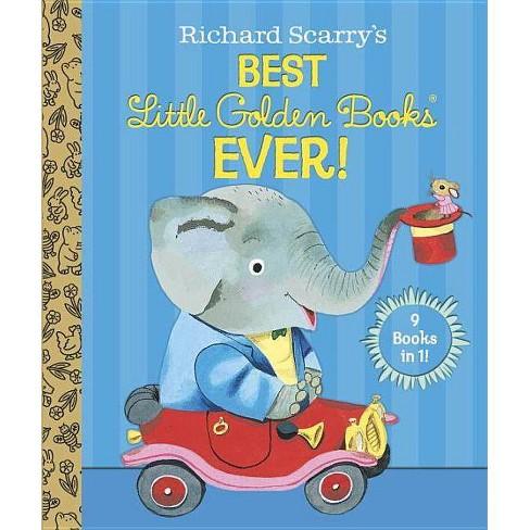 Richard Scarry's Best Little Golden Books Ever! - (Little Golden Book Treasury) (Hardcover) - image 1 of 1
