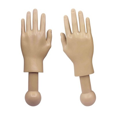 Toynk Tiny Hands 4.5-Inch Novelty Toys | Left and Right Hands