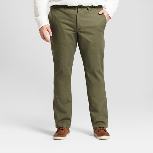 Men's Big & Tall Straight Fit Hennepin Chino Pants - Goodfellow & Co™ - image 1 of 3