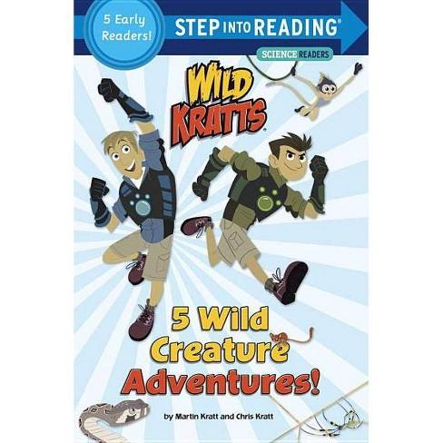 5 Wild Creature Adventures! (Wild Kratts) - (Step Into Reading) by  Chris Kratt & Martin Kratt (Paperback) - image 1 of 1