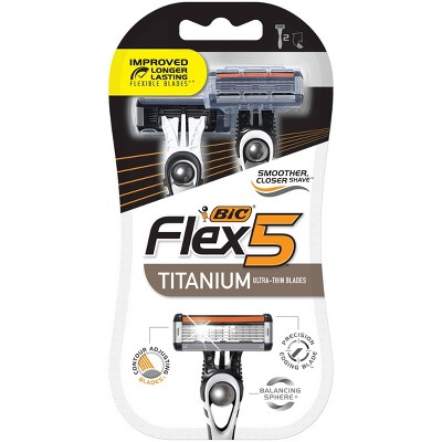 BIC Flex5 Men's Disposable Razors