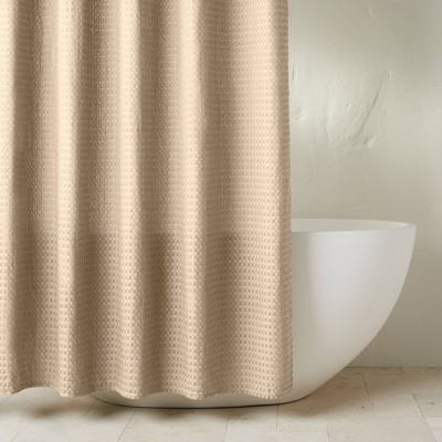 Waffle Shower Curtain Sand - Casaluna™