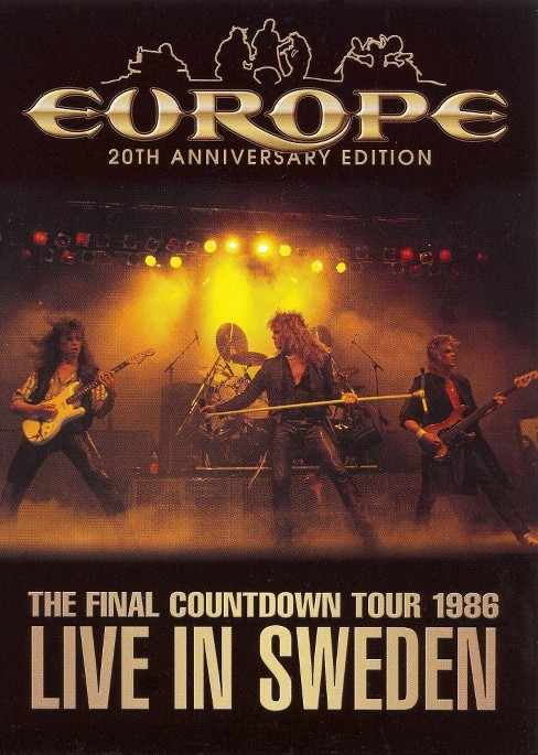 Europe:Final countdown tour live in s (DVD) - image 1 of 1