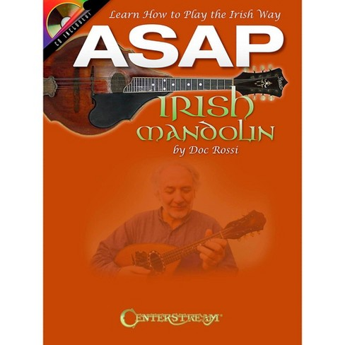 Centerstream Publishing ASAP Irish Mandolin Book/CD - image 1 of 1