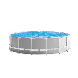 Intex Prism Frame Pool - Gray