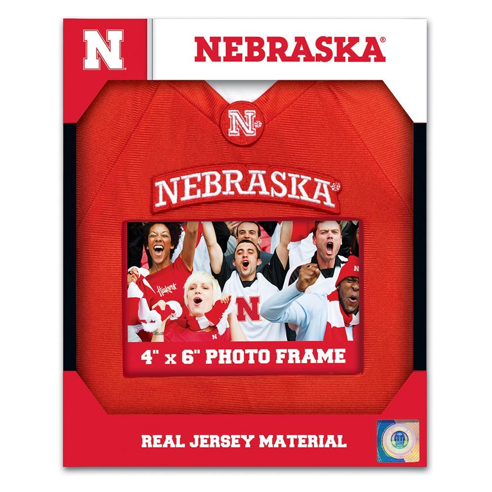 Nebraska Cornhuskers Single Image Frame 4'X6' - Red