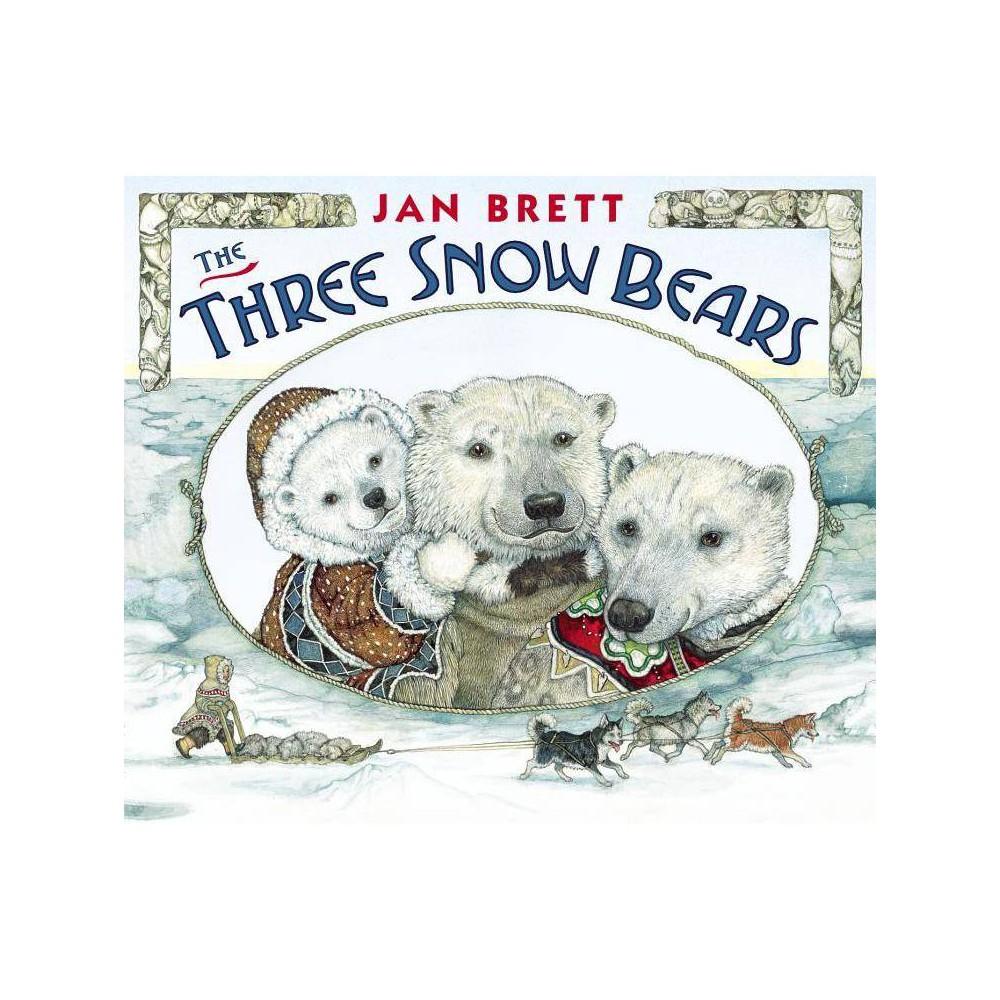 The Three Snow Bears By Jan Brett Board Book
