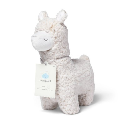 Plush Llama Stuffed Animal - Cloud Island™ Cream