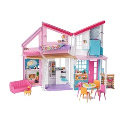 Barbie Malibu House Doll Playset