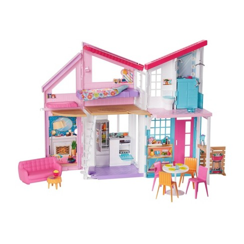 Wondrous Barbie Malibu House Doll Playset Download Free Architecture Designs Rallybritishbridgeorg