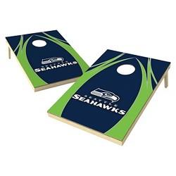 NFL Wild Sports Platinum Shield Cornhole Bag Toss Set - 2x3 ft.