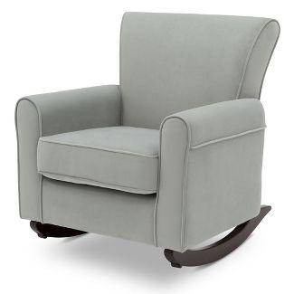 Delta Children Lancaster Rocking Chair - Mist/Dark Chocolate