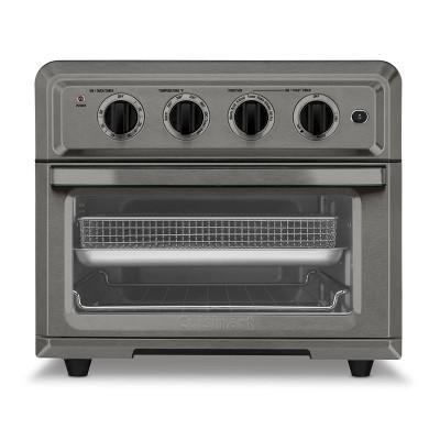 Cuisinart AirFryer Toaster Oven - Black Stainless Steel - TOA-60BKS