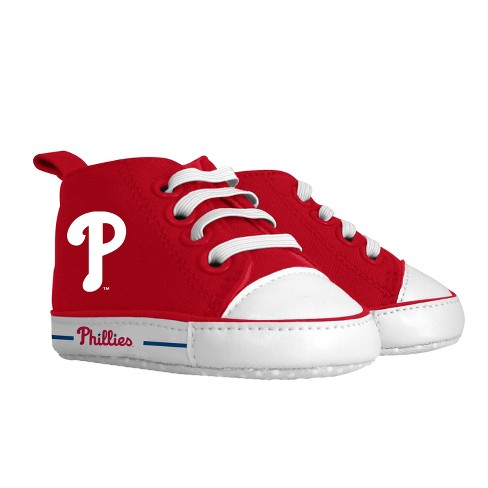 newest b34c5 2c0ba MLB Philadelphia Phillies Baby Sneakers - 0-6M
