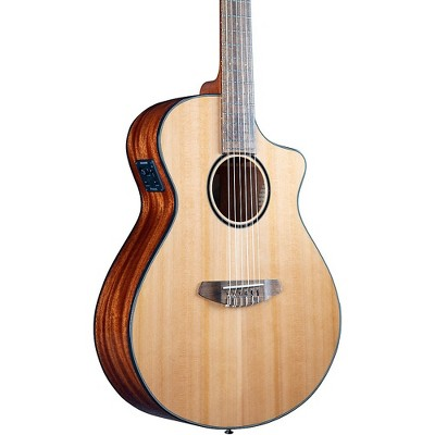 Breedlove Discovery S CE Cedar-African Mahog Concert Acoustic-Electric Classical Guitar Natural