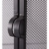 Plow & Hearth - 2-Door Steel Fireplace Fire Screen with Tempered Glass Accents, Black - image 2 of 2