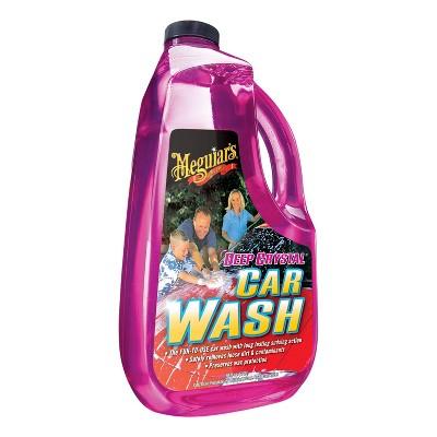 Meguiars 64oz Deep Crystal Car Wash