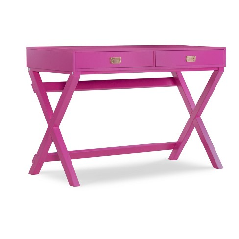 Peggy Raspberry Writing Desk Red - Linon - image 1 of 4