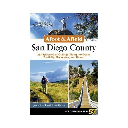 afoot and afield san diego 5th edition