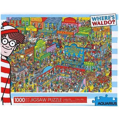 NMR Distribution Where's Waldo Wild Wild West 1000 Piece Jigsaw Puzzle