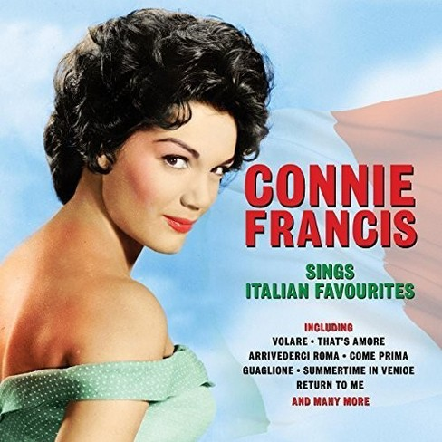 Connie Francis - Sings Italian Favorites (CD) - image 1 of 1