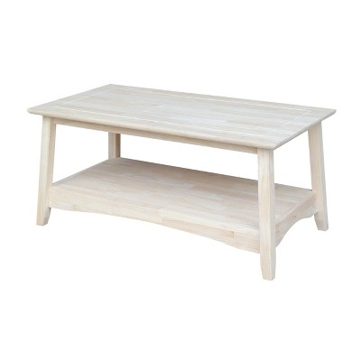 Bombay Tall Coffee Table - International Concepts