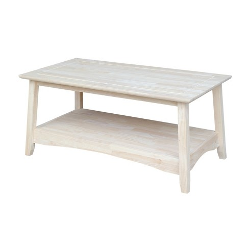 Bombay Tall Coffee Table - International Concepts - image 1 of 5