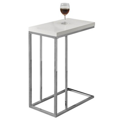 Monarch Specialties Contemporary Accent Rectangular Side Table, White (2 Pack) : Target
