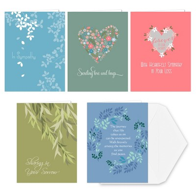 36ct Sincere Sympathy Greeting Cards