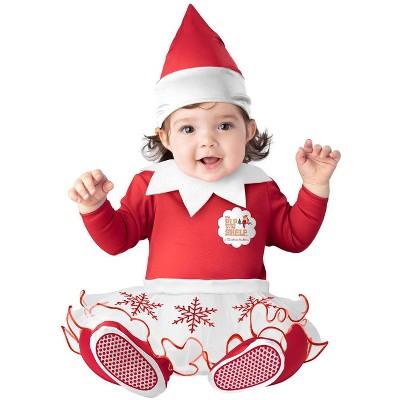 Elf of the Shelf The Elf on the Shelf Baby Girl Elf Infant Costume