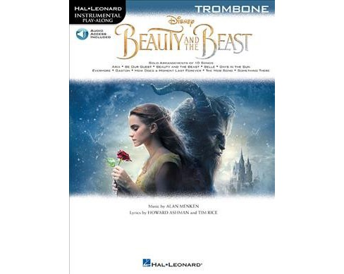 Beauty and the Beast Trombone -  (Hal Leonard Instrumental Play-along) (Paperback) - image 1 of 1
