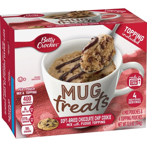 Betty Crocker Mug Treat Soft Baked Chocolate Chip Cookie 13 9oz