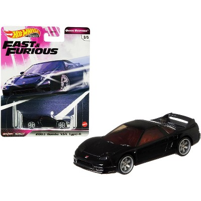 "2003 Honda NSX Type-R Black ""Fast & Furious"" Diecast Model Car by Hot Wheels"