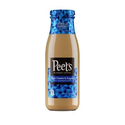 Peet's Coffee Iced Vanilla Bean - 13.7 fl oz Bottle