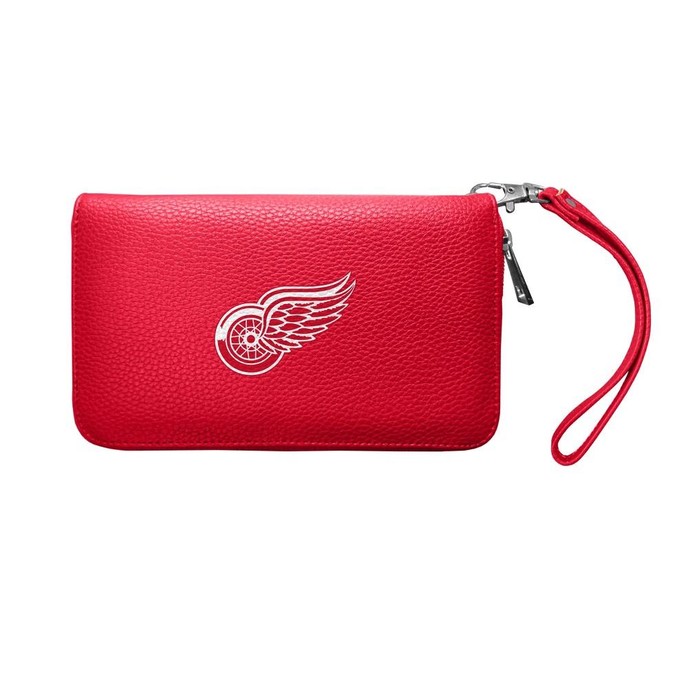 NHL Detroit Red Wings Pebble Zip Organizer Wallet, Girl's
